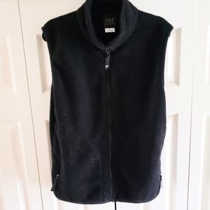 Helly Hansen Black Front Zip High Neck Vest Large
